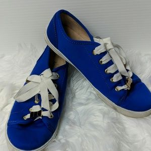 KATE SPADE Lodero Low Top Blue Ribbon Tennis Shoes
